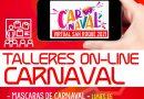 "Mañana martes, taller ""on line"" de Carnaval sobre ""Maquillaje de Fantasía"""