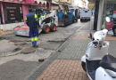 Acometidos trabajos de asfaltado en varias calles del centro de la ciudad