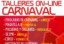 """Los mejores """"Antifaces de Carnaval"""", mañana sábado con el taller online de Fiestas"""