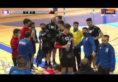 El Balonmano Ciudad de Algeciras cae ante el BM Montequinto en un igualado partido