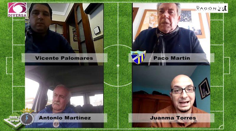Desde el Corner Especial Fútbol Base con Antonio Martínez, Paco Martín, Vicente Palomares y Juanma Torres