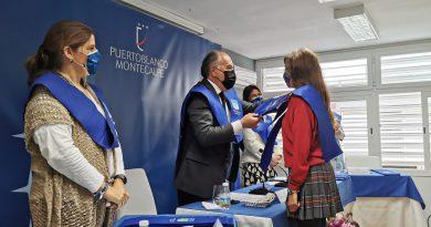 El  alcalde participa en la imposición de becas de la XL promoción de Puertoblanco