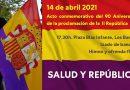Podemos Los Barrios asistirá al acto del 90 aniversario de la proclamación de la Segunda República