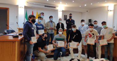 Entregados los diplomas del curso de socorrismo, organizado por la delegación municipal de Juventud