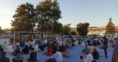 La comunidad musulmana del Campo de Gibraltar celebra el fin del Ramadán