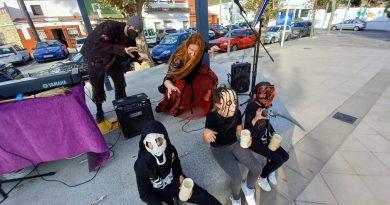 Pequeños de Taraguilla disfrutaron de un cuento dinámico de Halloween, que se traslada hoy a Puente