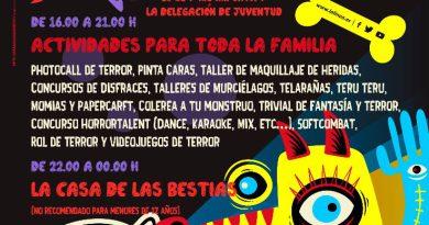 La Casa de la Juventud acogerá el 30 de octubre una jornada de Halloween